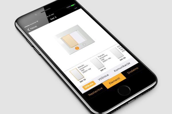 Mobilna aplikacija Tem Modul Manager by Positiva 2