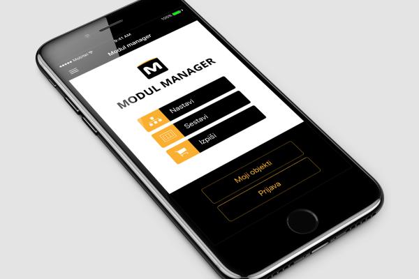 Mobilna aplikacija Tem Modul Manager by Positiva