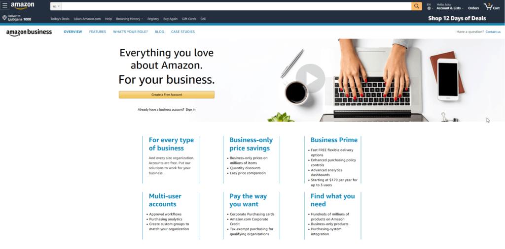 Amazon for B2B