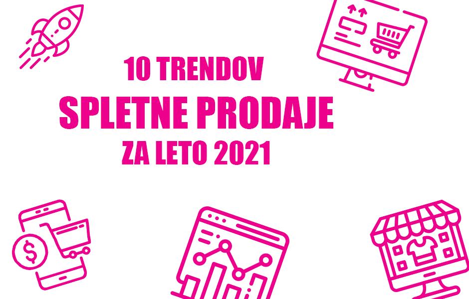 10 TRENDOV spletne prodaje za leto 2021 - Positiva