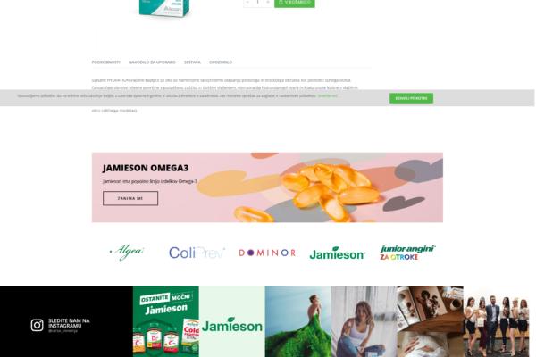 Carso spletna trgovina Positiva rešitve