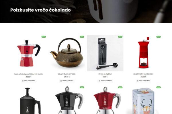 Nanni magento 2 spletna trgovina Positiva rešitve
