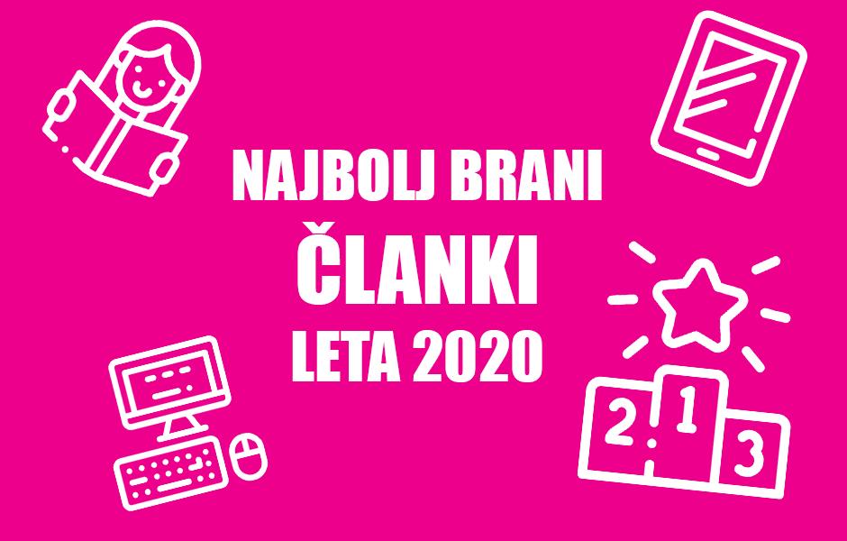 3JE NAJBOLJ BRANI ČLANKI LETA 2020 - Positiva rešitve d.o.o.