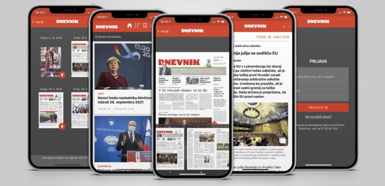 mobilna aplikacija časnika dnevnik positiva rešitve d.o.o.