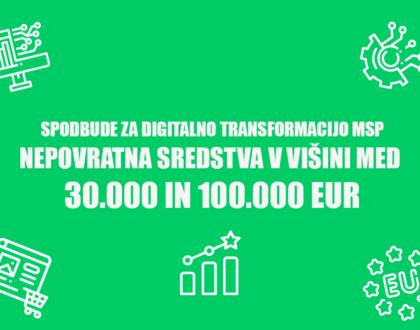 Spodbude za digitalno transformacijo - Positiva rešitve d.o.o.